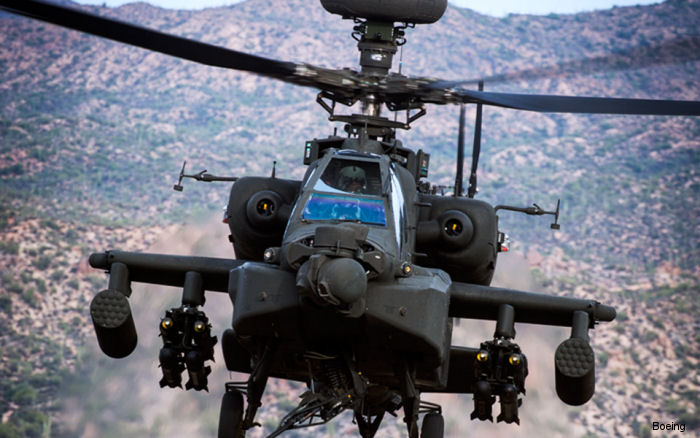 Boeing will deliver 50 AH-64E Apache attack helicopters to the British Army and Finmeccanica/Leonardo/AgustaWestland will support initial operating capability from 2022