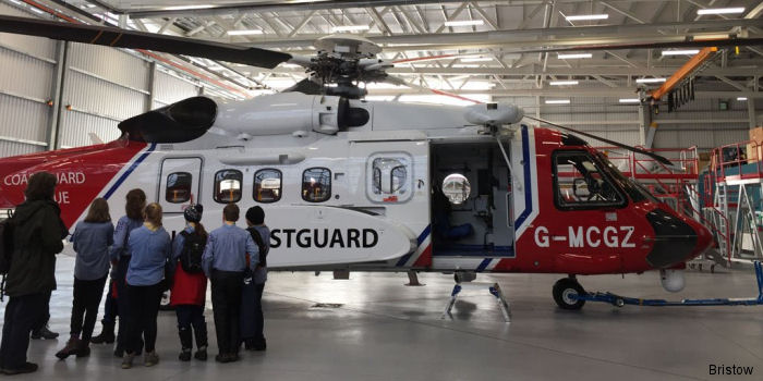 Over 250 Air Scouts enjoyed a trip to Bristow's search and rescue helicopter (SAR) base in Newquay as part of the organization's 75-year anniversary celebrations.