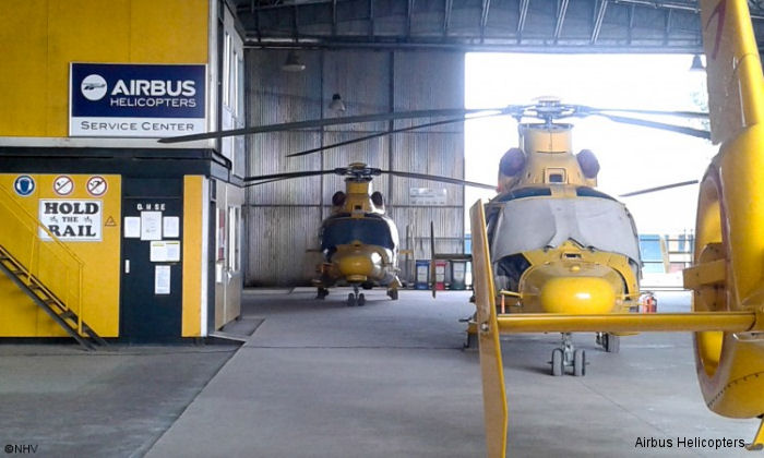 About 600 Airbus Helicopters rotorcraft are in service throughout Africa. NHV Ghana and Airbus Helicopters Southern Africa (AHZA) provides services to this fleet