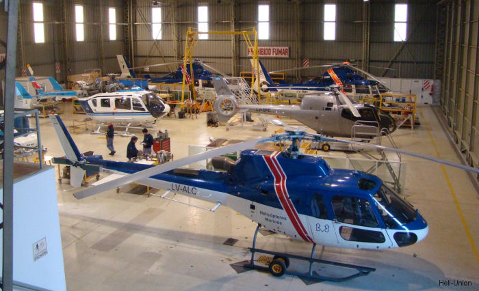 Helicopteros Marinos from Argentina obtained approval from Safran Helicopter Engines (Turbomeca) to perform level III maintenance for Arriel engine family