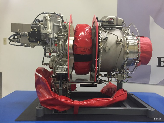 Safran Helicopter Engines (ex Turbomeca) USA facility in Grand Prairie, Texas delivered the first Arrius 2R made in USA. The engine, previously built in France, powers the Bell 505 Jet Ranger X.