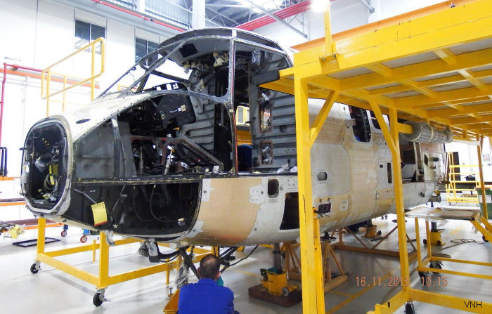 Airbus Completes VNH AS332L2 Overhaul