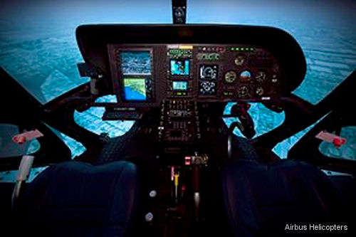 Airbus Helicopters Inc. offers highly realistic IIMC simulator training to teach pilots how to avoid, escape flight into hazardous weather