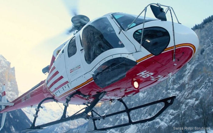 Swiss Rotor Solutions's Maximum Pilot View Kit received European Aviation Safety Agency (EASA) Supplemental Type Certification (STC) for use in the EC130, AS350B2 and AS350B3