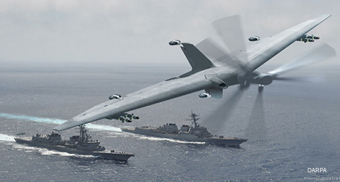 AVX working with Northrop Grumman on Phase 3 of DARPA Tern program