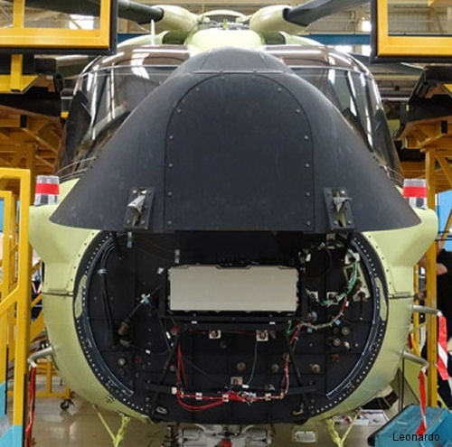 The Osprey is the first lightweight airborne surveillance radar (E-Scan) to provide a 360 degree field of view without moving parts