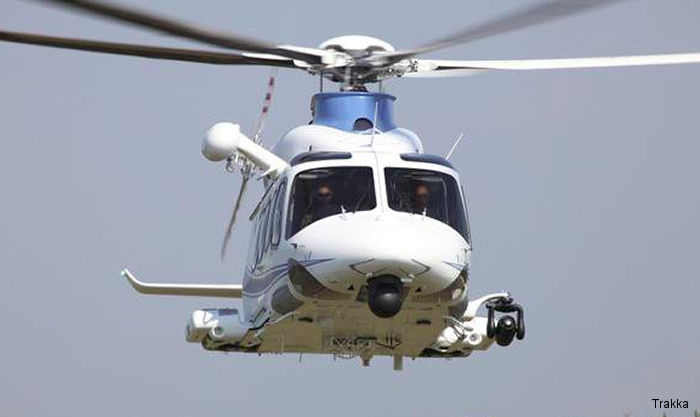 Trakka received an EASA (European Aviation Safety Agency) STC data package for the installation of the A800 searchlight onto the AW139 helicopter short and long nose variants