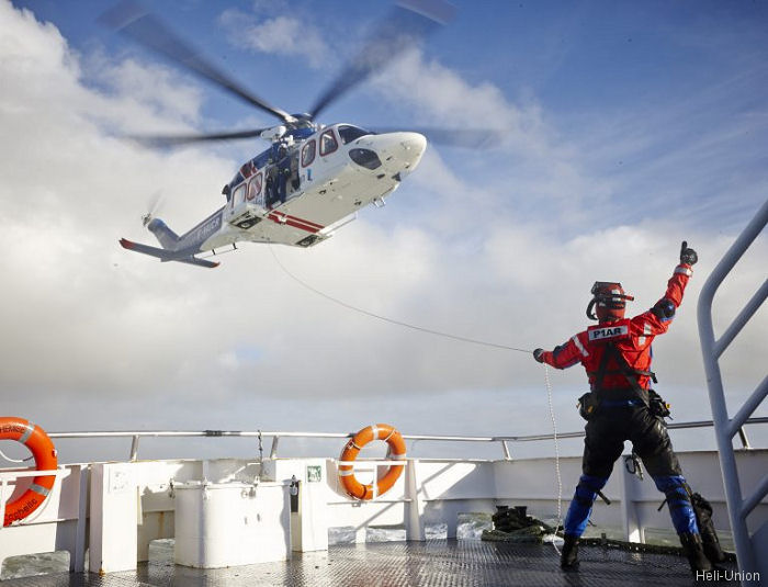 Heli-Union launched a commercially based offshore helicopter search-and-rescue (SAR) program in France with a new AW139 in partnership with Priority Air 1 rescue