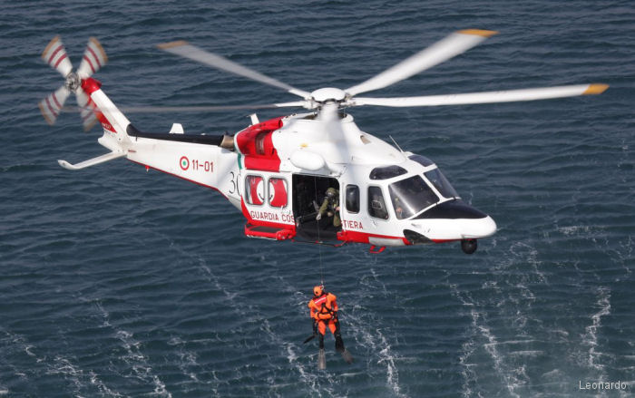Italian Coast Guard orders two additional AW139 helicopters bringing Guardia Costiera fleet of this model to twelve.