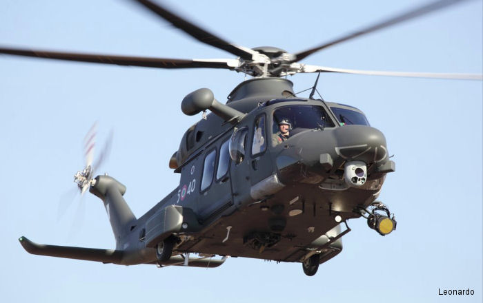 An Italian Air Force AW139M / HH-139A