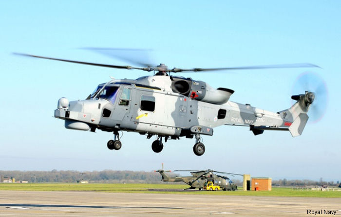 815 Naval Air Squadron received first four of 12 new AW159 Wildcats begining the transition from the Westland Lynx after 35 years. The unit Lynx Mk8 will be completely replaced by mid next year
