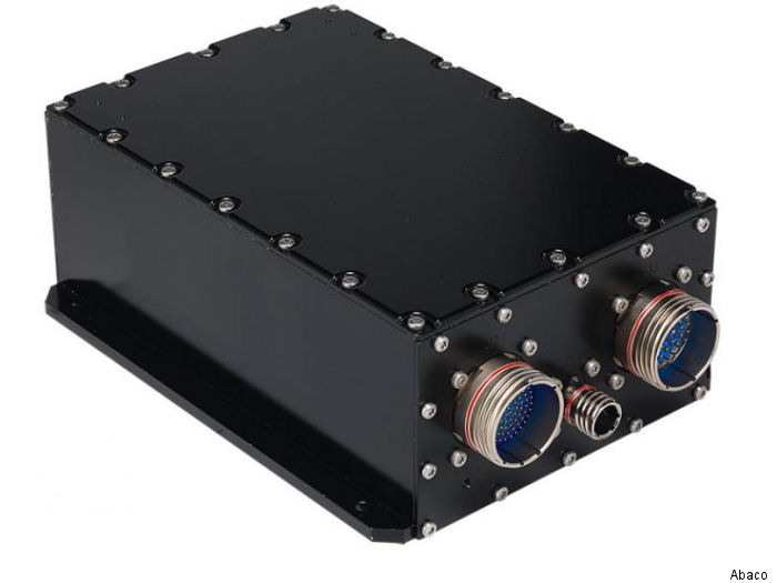 Abaco's DAQMAG2A provides video capture, processing, and transmission.