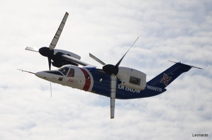 AW609 flying prototype #1 relocated to Philadelphia after recent resumption of flights. Will soon be replaced by a new AW609 being built in Italy