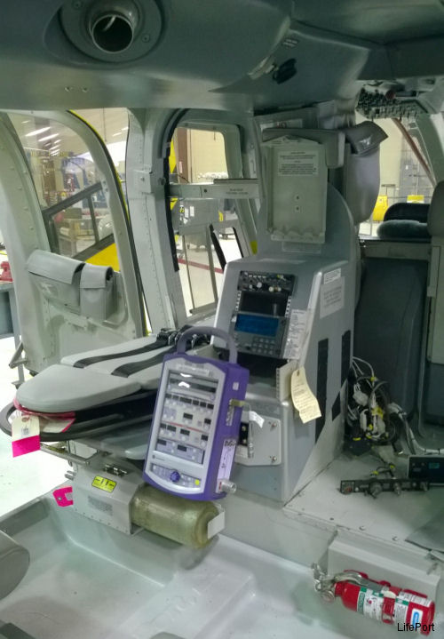 LifePort developed the Utility Mount and Oxygen Cylinder Mount in partnership with PHI, Inc., for PHI's fleet of Bell 407 helicopters