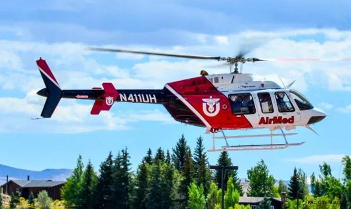 Decals Bell 407 Univercity of Utah Air Med N407UH
