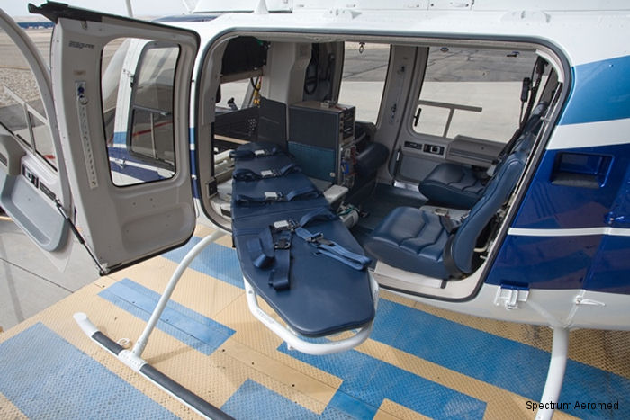 Medical Interior For Idaho Helicopters Bell 407gxp