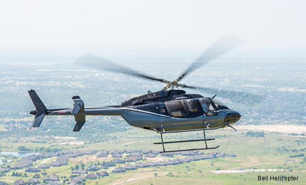Bell Helicopter announce the sale of the first 407GXP in Italy to a private customer