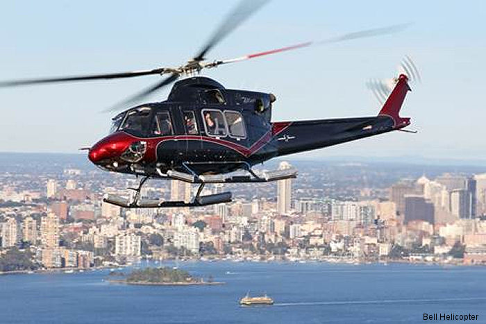 The Bell 412EPI helicopter will be showcase through a five month long series of customer demonstration flights across the Asia Pacific region