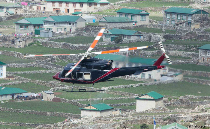The Bell 412EPI Climbs to New Heights