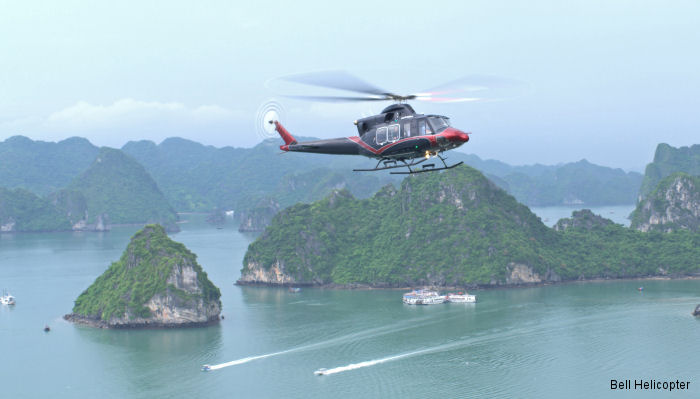 The Bell 412EPI Makes Big Impression in Vietnam