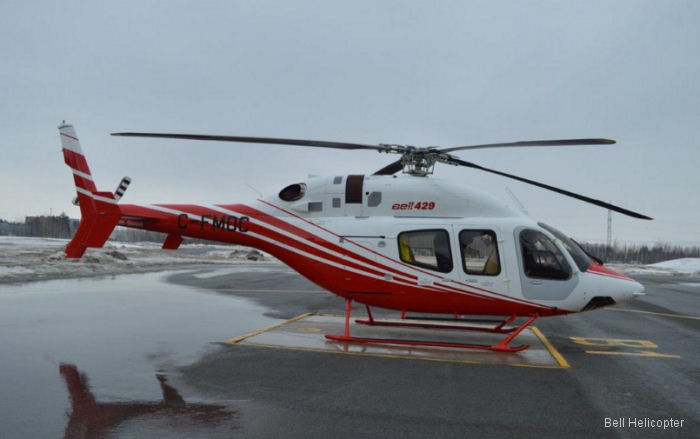 Bell Helicopter delivered a new Bell 429 to Mexican Chihuahua State Government to replace the one crashed on August 2015