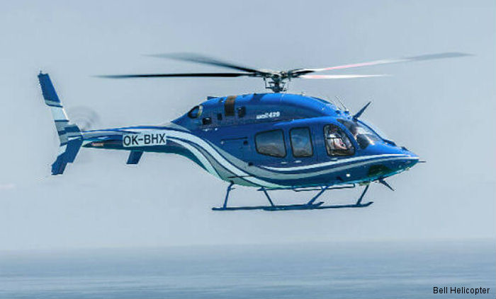 Bell Helicopter announces plans to showcase the VVIP with luxury interior Bell 429 MAGnificent in South America. Nowadays,  more than  60 Bell 429s are operating throughout Latin America.