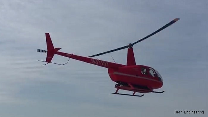 Battery-powered manned helicopter, a modified Robinson R44, achieved a record five minute cruise flight at Los Alamitos, California on September 21, 2016