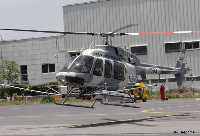 Bell Helicopter announced the final delivery of the 15th Bell 407GXP to the Mexican Air Force (FAM) from a contract awarded in March 2015