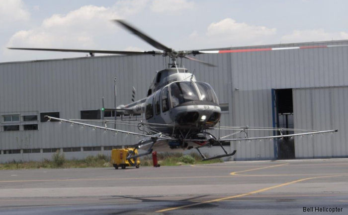 Bell Helicopter Delivers 15th Bell 407GXP to Mexican Air Force