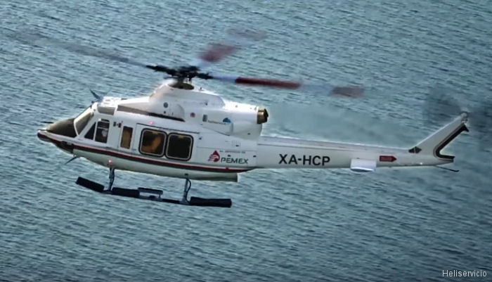 Bell Support for Mexican Heliservicio' 20 Bell 412