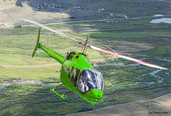 Bell Helicopter announced letter of intent (LOI) with Mr Rodrigo Gutíerrez from Bolivia for a Bell 505 Jet Ranger X, the first in the country