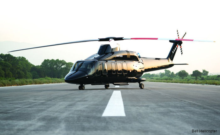 Bell Helicopter and Mecaer Aviation Group Introduce the MAGnificent Interior for the Bell 525 Relentless