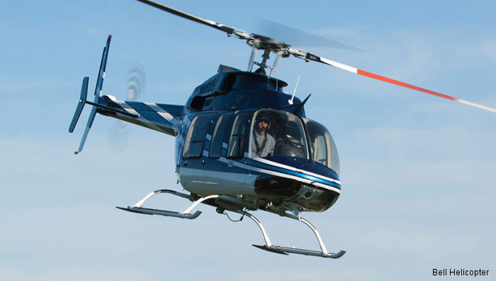 Topflight has selected the Bell 407GXP to carry out sightseeing missions for their customers in the United Kingdom