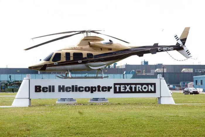 Bell Helicopter plant in Mirabel, Quebec, Canada