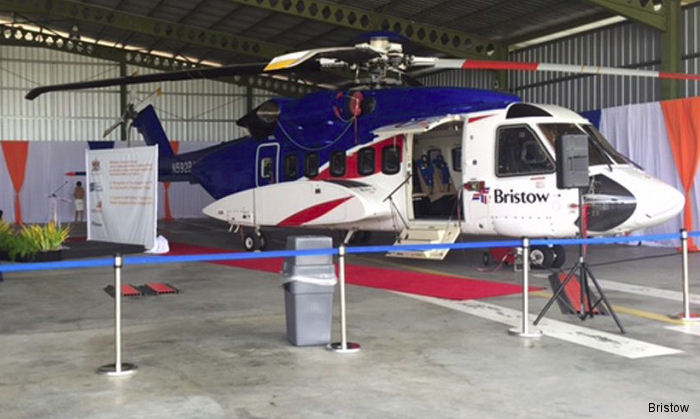 Bristow S-92 Helicopters began operations in Trinidad and Tobago in support of BHP Billiton drilling campaign