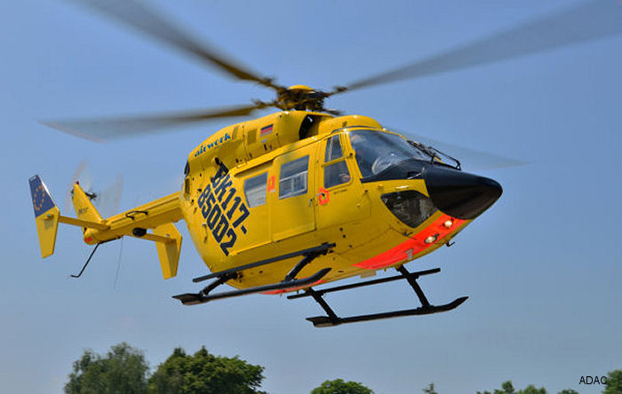 German emergency medical helicopter service ADAC Luftrettung upgraded 2 of its BK117-B2 aircraft with the enhanced LTS101-850B-2 engines. First European operator of the type.