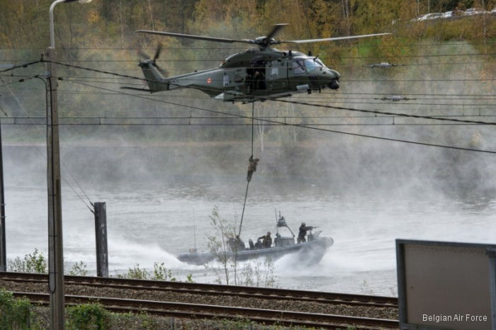 European Defence Agency's  Helicopter Exercise Programme (HEP) organizing exercise Black Blade (BB16) for special forces in Belgium