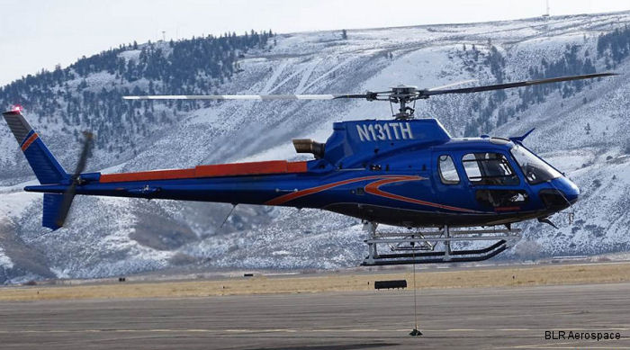 The Newest FastFin System was displayed for the first time on an H125/AS350B3e helicopter at the 2016 Helicopter Association of Canada (HAC)