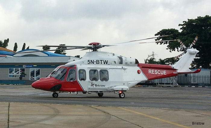 Bristow Nigeria announced new dedicated helicopter rescue and recovery (RRS) service for oil and gas industry based in Port Harcourt to launch in August 2016 with AW139