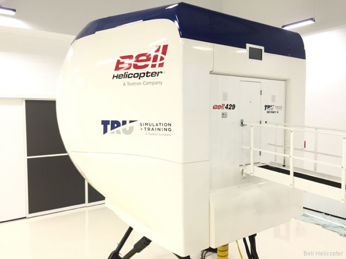 Bell Helicopter and TRU Simulation + Training Inc announced new updates in their continued progress with their training center in Valencia, Spain. Classes starting in January 2017