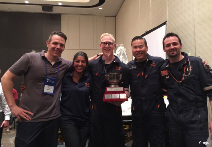Ornge, Ontario's air ambulance, was the winner of the 2016 Canadian Association of Emergency Physicians (CAEP) Simulation Olympiad between eight teams from across Canada