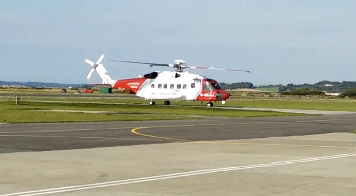 The UK Coastguard S-92 based at Caernarfon since July 1st, 2015 completed its 500th search and rescue mission