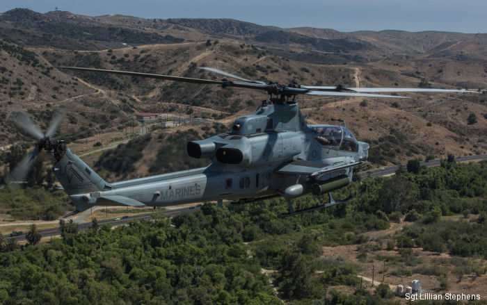 Calling for back up: HMLA-267, 3/7 Marines perform close-air support training