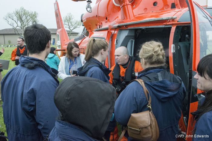 The purpose for hosting Missions Day is to give the Coast Guard an opportunity to educate.