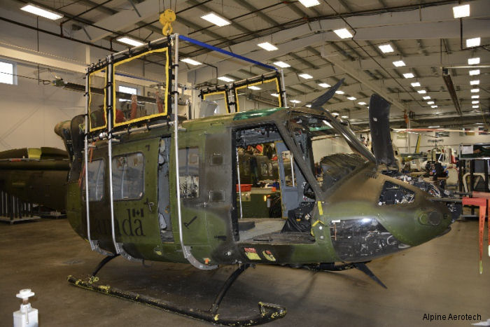 Alpine Aerotech will perform all upcoming 3,000 hour/eight year inspections, repairs, modifications and complete re-painting of the Canadian CH-146 fleet for the next four years
