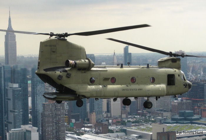 Old 368 was replaced by CH-47F Chinook 793