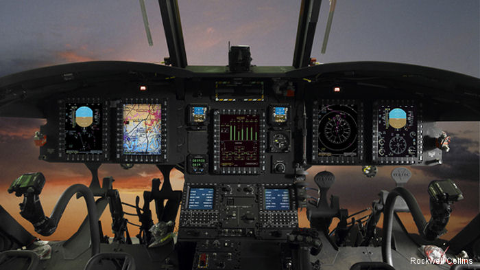 The Boeing Company has selected Rockwell Collins to provide its Common Avionics Architecture System (CAAS) for India s 15 CH-47F Chinook helicopters