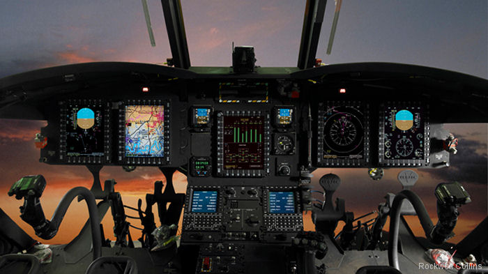 Rockwell Collins selected to support cockpit equipment for U.S. Army CH-47F
