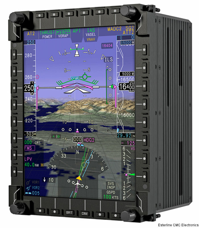 German CH-53GS/GE helicopters to be upgraded with Esterline CMC Electronics' CMA-9000 Flight Management System (FMS) and MFD-3068 Multi-Function Displays