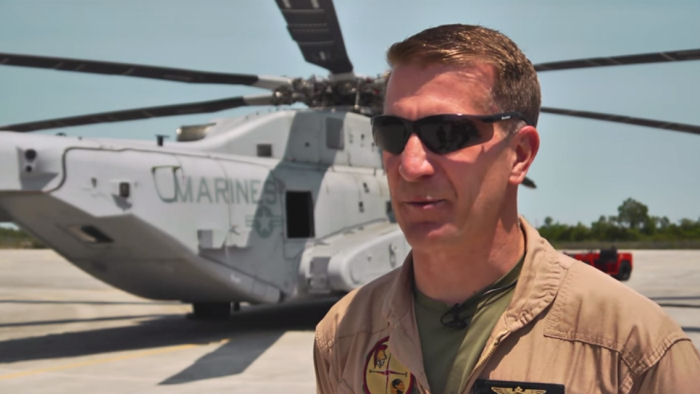 Pilots from Sikorsky and the USMC explain how the CH-53K King Stallion feels during flight